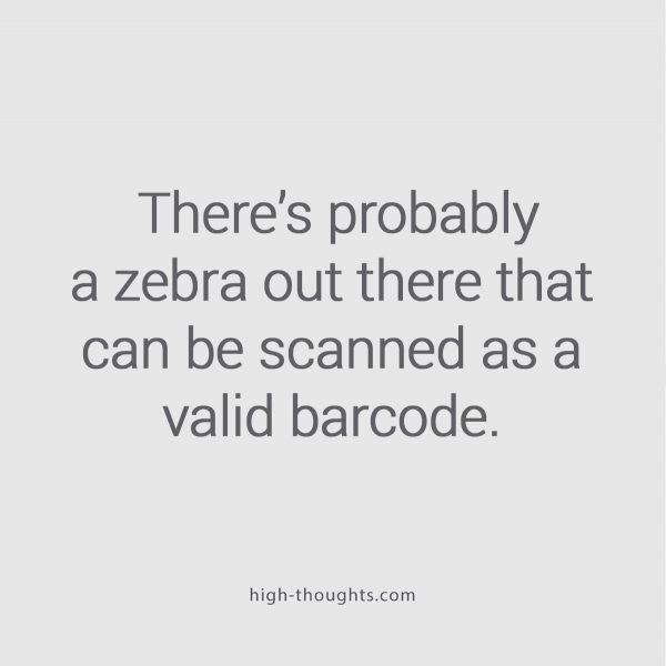 Whats the scancode on zebra