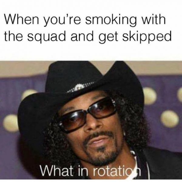 What in the rotation?